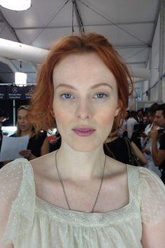 NYFW Michael Kors Spring Summer 2014 Backstage Beauty (Vogue.com UK)