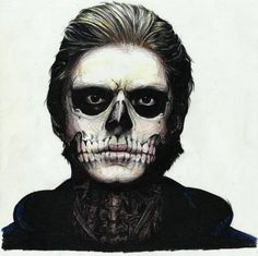 american horror story drawing of tate | Evan Peters Drawing Tate From American…