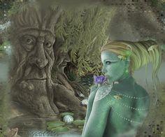 maraia1606's Bucket fairy art - Pin it by GUSTAVO BUESO-JACQUIER