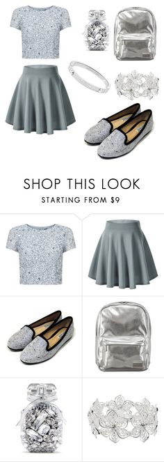 """""""glastic"""" by beautyniya1 ❤ liked on Polyvore featuring Adrianna Papell, Pantone, Victoria's Secret, M&Co and Michael Kors"""