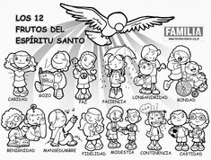 los 12 frutos del espiritu santo - Google Search