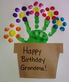 birthday crafts for mom from kids - Google Search