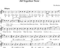 All Together Now. The Beatles