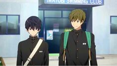 The theme song for High Speed! Starting Days anime movie was feature in the newly released trailer for the film. Free Iwatobi Swim Club, Makoharu, Anime Films, Manga, Anime Shows, Theme Song, High Speed, Swimming, Day