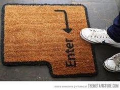 Love this for my new door mat