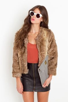 Fake fur...the only way I'd wear it.