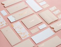 Lovely Bride boutique branding by Kati Forner #InspoFinds