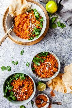 A Food, Good Food, Food And Drink, Vegan Recipes, Cooking Recipes, Food Inspiration, Food Porn, Curry, Veggies
