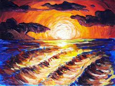 landscape mixed media art paintings - Google Search