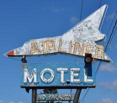 Airliner Motel, Hermantown, Minnesota.