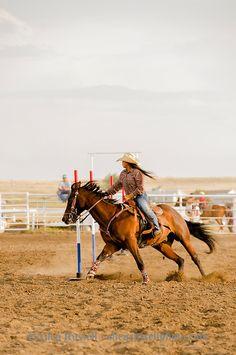 Rocky Boy Rodeo-kids-Indians-teenagers-Pole Bending-Rocky Boy Reservation-Montana. Allen Russell photography Barrel Racing Horses, Barrel Horse, Western Photography, Equine Photography, Cowgirl And Horse, Horse Girl, Westerns, Pole Bending, Rodeo Time