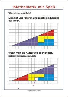 Mathe mit Spaß - Wie ist das möglich?