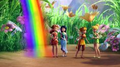 Disney Fairies Short: Rainbow's End - YouTube