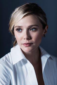 "Elizabeth Olsen ♦ TIFF 2015 ""I Saw the Light"" portrait by Jeff Vespa"