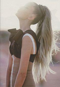love. Hair. Dress. Body. Straight Hairstyles, Cute Hairstyles, Braided Hairstyles, Short Straight Hair, Summer Hairstyles, Thick Hair, Style Hairstyle, Hairstyle Ideas, Straight Ponytail