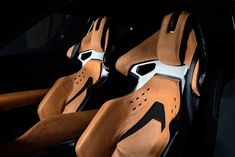 Toyota FT-1 Graphite Concept Interior