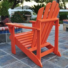 Westport Adirondack Chair in Tangerine
