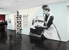 Project: Counter Space: Design and the Modern Kitchen.  By The Department of Advertising and  Graphic Design, the in-house design studio of The MoMA