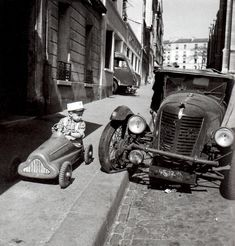 by Robert Doisneau, 1950's, France