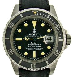 This Cartier-signed Submariner 1680 sold for over $100,000 in 2011.