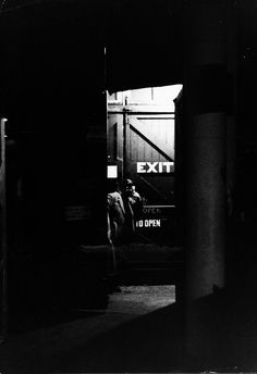 Yvan Dalain. Stage Exit (from 'Music-Hall'). London. 1962