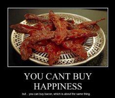 True! :) #fitforduty #bacon