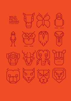 Animal Pictograms by Nuno Lezon Mendes