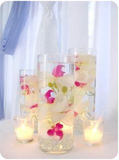 cylinder vase centerpieces