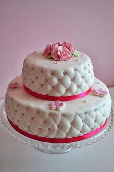 Cakes-Island : Pikowany tort Ślubny