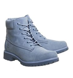 Buy Blue Nubuck Exclusive Timberland Slim Premium 6 Inch Boots from  OFFICE.co.uk