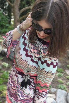 Love The Fabulous: Romantic Rocking Hippie #missoni #gucci #saamicrafts #chanluu #fashion #blog #outfit