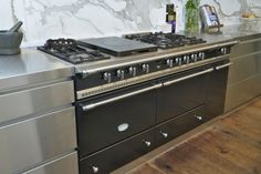 lacanche stainless steel range and cabinets - Google Search