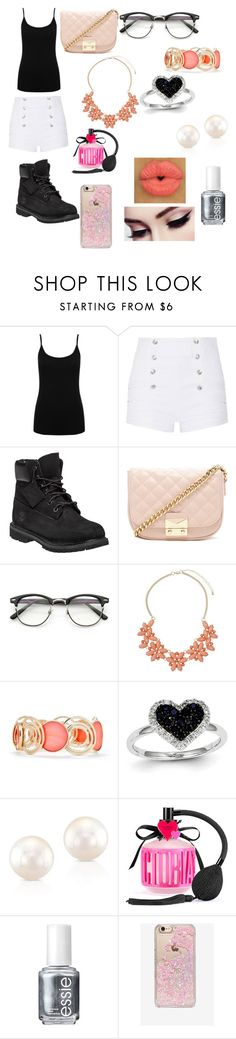 """""""Untitled #38"""" by jessa-robinson ❤ liked on Polyvore featuring M&Co, Pierre Balmain, Timberland, Forever 21, ZeroUV, Dorothy Perkins, New Directions, Kevin Jewelers, Anne Sisteron and Victoria's Secret"""