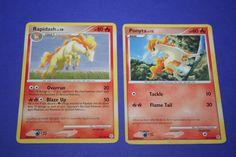 2 Pokemon Cards - Ponyta and Rapidash by LiveLoveCraftDesignz on Etsy Pokemon Cards, Mint, Etsy, Peppermint, Pokemon Trading Card