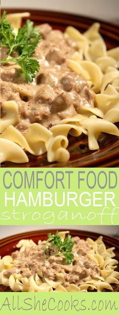 Weight Watchers Hamburger Stroganoff is a healthier spin on the traditional recipe. This low-calorie version is every bit as good as the original.