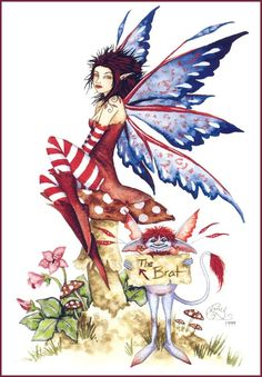 Amy Brown - The Brat Amy Brown Fairies, Magical Creatures, Brown Art, Pixies, Fairy Dust, Fairy Land, Fantasy Fairies, Dream Fantasy, Fantasy Dragon