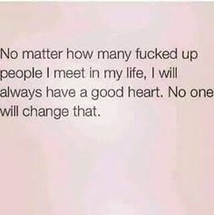 & I will always be able to form my own opinion, I am not influenced.