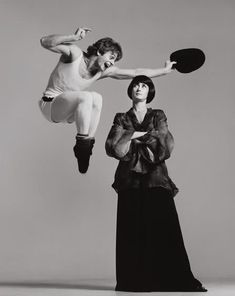 Love this photo! Baryshnikov and Twyla Tharp