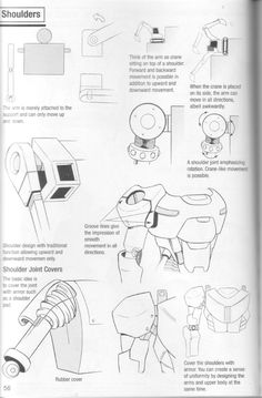 Como Desenhar Mangá - Robôs Arte Gundam, Gundam Art, Robot Sketch, Robots Drawing, Learn To Sketch, Robot Costumes, Robot Parts, Animation Storyboard, Manga Drawing Tutorials