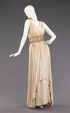 "1948 Elizabeth Hawes ""Falernum"" dress <3 <3"