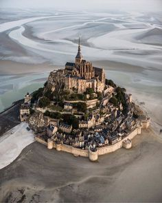 The marvel of the western world. Beautiful Castles, Beautiful World, Beautiful Places, Mont Saint Michel France, Western World, France Photos, France Travel, All Pictures, Castle Pictures