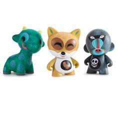 "Amanda Visell Ferals Mini Series 3"" Figures - Kidrobot - 7"
