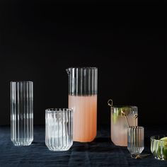 Dearborn Glassware (Set of - Hobbies paining body for kids and adult Art Of Glass, Glass Vase, Carafe, Cocktail Glassware, Kitchenware, Tableware, Glass Pitchers, Interior And Exterior, Interior Design