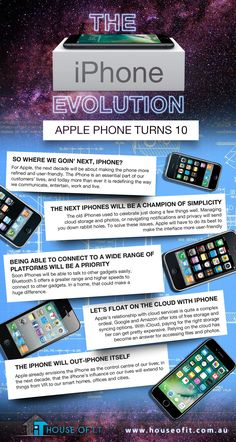 Here's how the famous iPhone has evolved in 10 years. Know the changes that made our new iPhones possible today.   https://houseofit.com.au/iphone-evolution-apple-phone-turns-10/