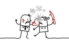 Gewaltspirale in Paarbeziehungen! Erfahre in 4 Punkten warum Liebe manchmal in Hass umschlägt und wie du dich gegen Gewalt in der Beziehung schützen kannst.