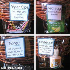 Kit more gift basket ideas college survival kit gift ideas new job