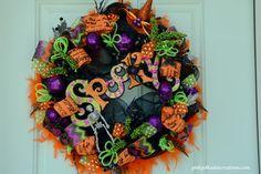 Sparkly Halloween Wr