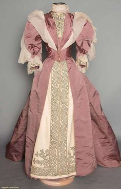 Reception Gown 1890s Augusta Auctions