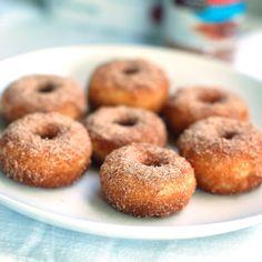 Cinnamon Sugar Mini Donuts - Pinch of Yum
