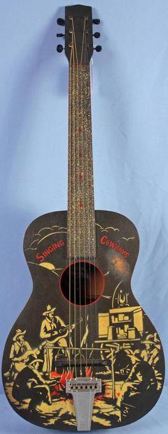 1930's Silvertone Cowboy Guitar --- https://www.pinterest.com/lardyfatboy/